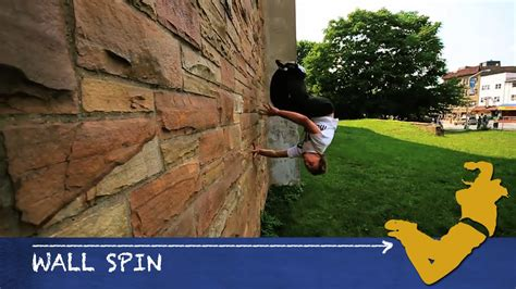 tutorial wall spin parkour from scratch 18 wall spin tutorial how to