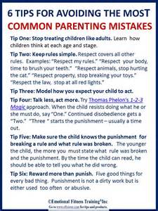 6 tips to avoid the most common parenting mistakes