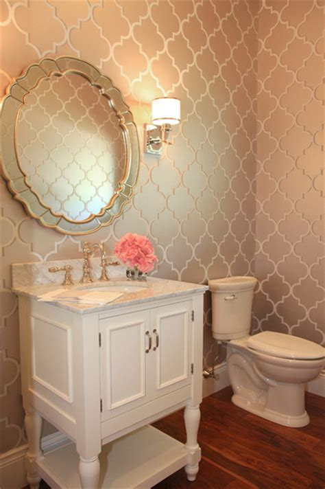 small bathroom wallpaper ideas hudson house traditional powder room minneapolis