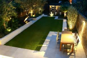 Modern Backyard Design Ideas Modern Backyard Landscape House Design With Green Grass In The Middle Garden Surrounded With