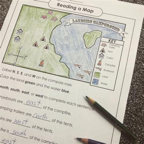 Social Studies Map Skills Worksheets
