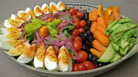 Composed Antipasto Salad   Centex Cooks
