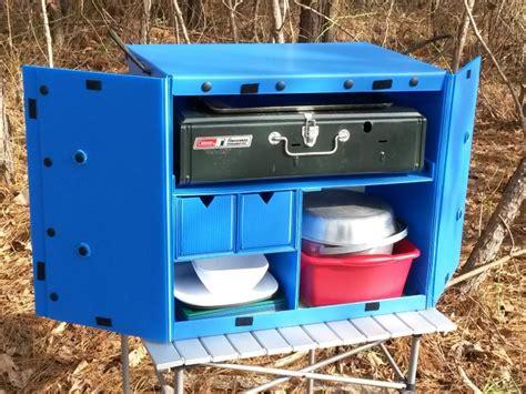 Diy Kitchen Design Ideas the camping kitchen box store blog