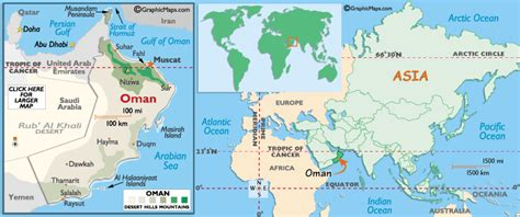 oman in the world map oman map political regional maps of asia regional