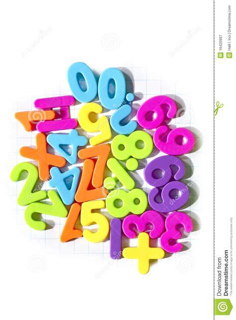 plastic numbers maths symbols stock image image  games