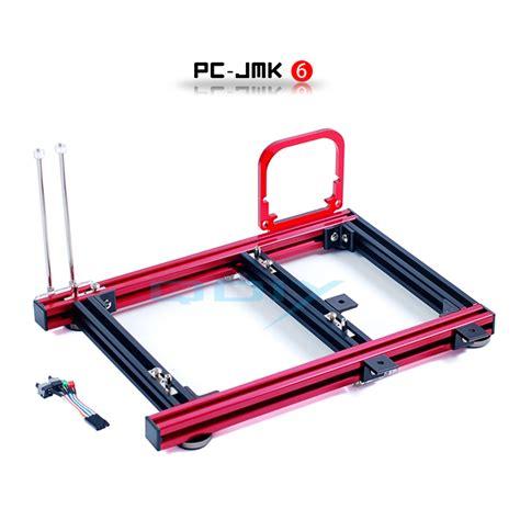 pc gestell aliexpress buy qdiy pc jmk6 atx aluminum alloy
