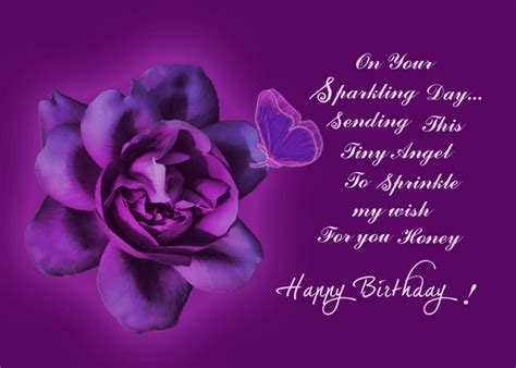 A Sparkling Wish For Someone Special. Free Happy Birthday