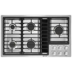 Downdraft Cooktops Jgd3536gsjenn Air 36 Quot Downdraft Gas Cooktop Stainless Black Albert Appliance