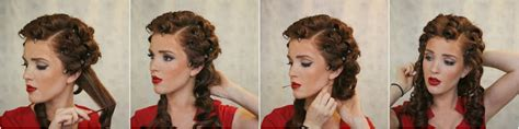 how to pin curl bob the freckled fox modern pin up week 5 upright pin curls
