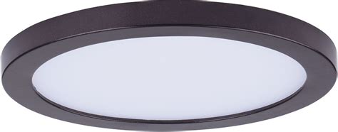 flush mount outdoor lighting fixtures maxim 57712wtbz wafer led modern bronze led outdoor flush