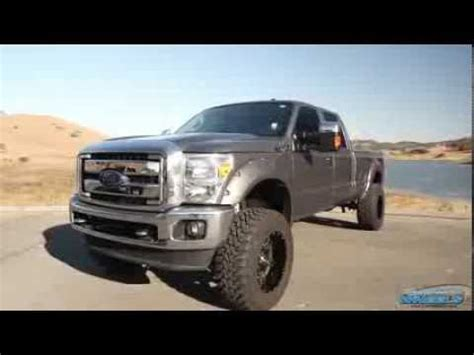 lifted ford   fuel wheels  california wheels youtube