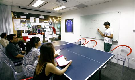 Table Tennis Meeting Table Nothing Grey About This Workplace Human Resources