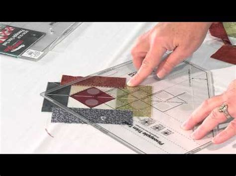Quilt Show Tutorials Creative Grid Pineapple Trim Tool Youtube Creative Grids Pineapple Trim Tool Quilting Template Ruler