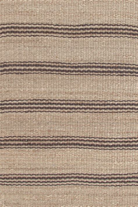 brown stripe rug brown striped jute rugs dash albert jute ticking java