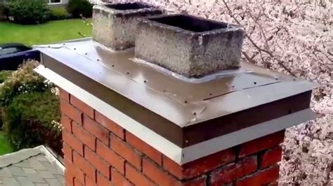 Chimney Mortar Cap Repair - repoint chimney crown top seal der flue