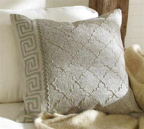 Pottery Barn Decorative Pillows by Monague Crewel Embroidered Pillow Cover Pottery Barn