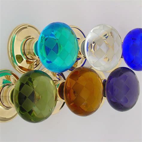 Coloured Glass Door Knobs Door Handles Door Accessories Cheshire Hardware