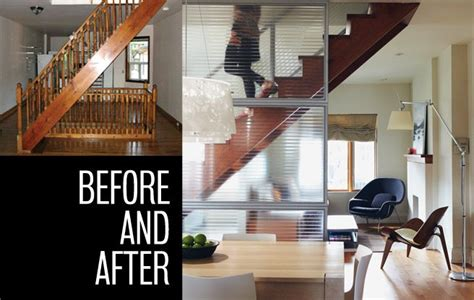 home renovation toronto extreme makeover a new staircase adds space and light to