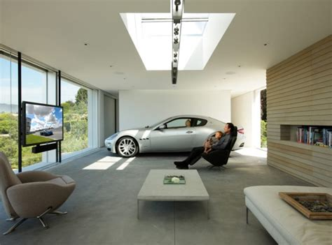 Home Loft Concept Tv Stand by Cars Parked Inside Homes Pretty Or Pretty Weird