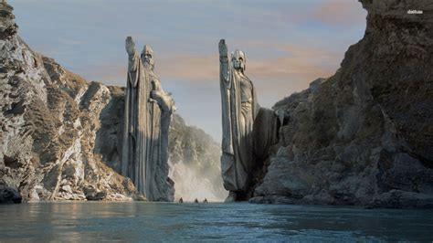 wallpaper mac lord of the rings 13245 gate of argonath lord of the rings 1920x1080 movie