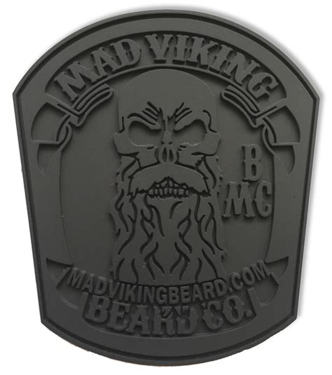mad viking pvc morale patch mad viking beard co