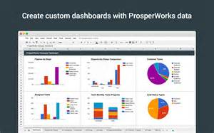 prosperworks crm custom report builder google sheets add on