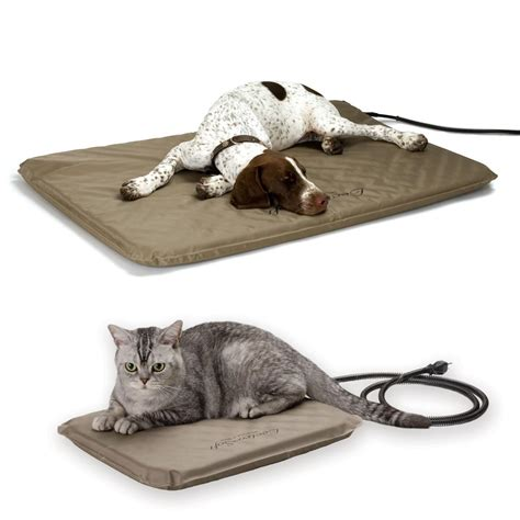 outdoor heated cat bed amazon com k h manufacturing lectro soft outdoor heated