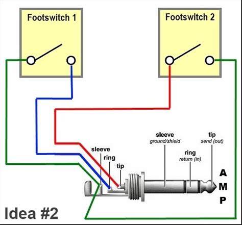 peavey footswitch wiring diagram wiring diagram with