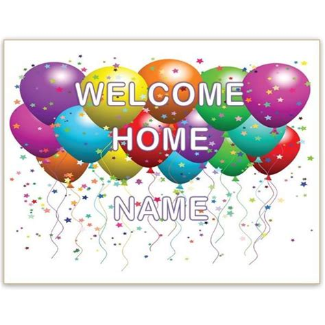 printable welcome home banner template best 25 welcome banner printable ideas on pinterest