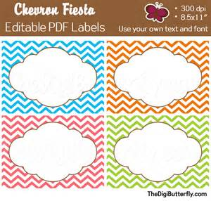 editable label templates 6 best images of free chevron printable label templates