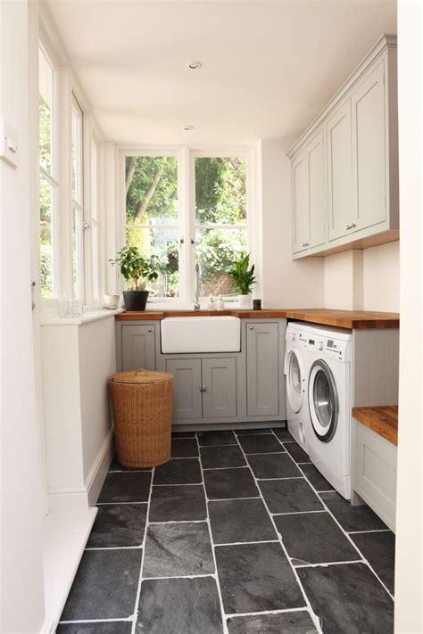 laundry room, black slate floors, A House Like This