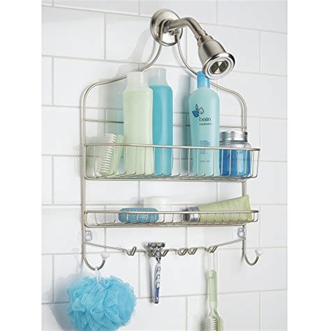 extra wide bathtub caddy mdesign wide shower caddy storage for shoo