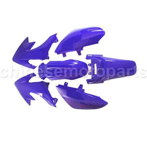 honda crf50 light kit blue plastic kit honda crf xr xr50 crf50 50 pit bike ps04