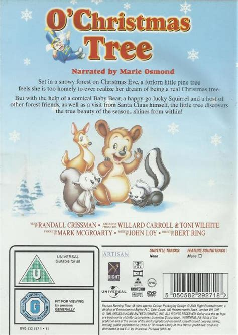 o christmas tree dvd 1999 o tree dvd was listed for r60 00 on 19 may at 17 02 by tmusic1 in