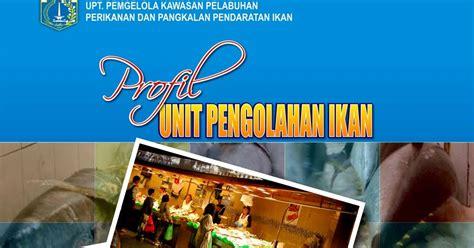 desain cover brosur desain cover profil unit pengolahan ikan by desain gratis