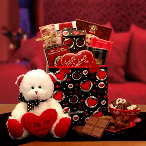 valentines day gift sets lots of chocolate gift set gift baskets