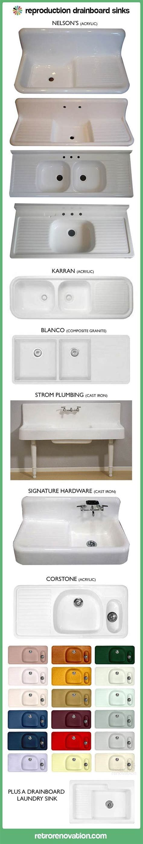 vintage kitchen with drainboard five new options for farmhouse kitchen drainboard sinks