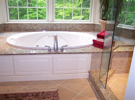 bathtub deck tub deck