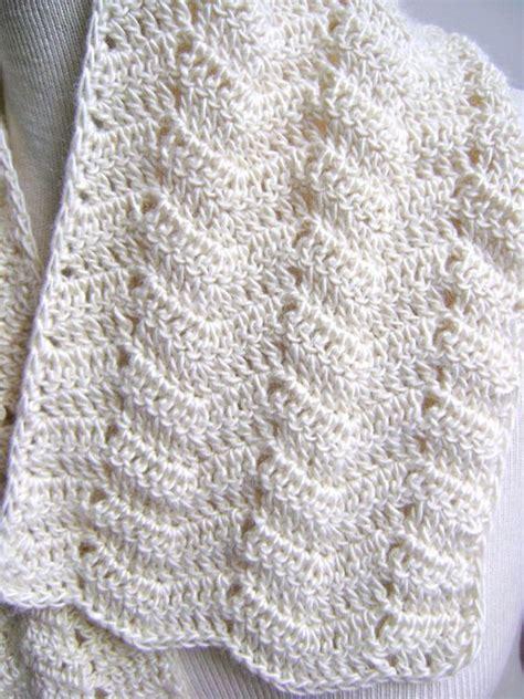 crochet scarf pattern beginner video lacy crochet scarf pattern easy beginner by