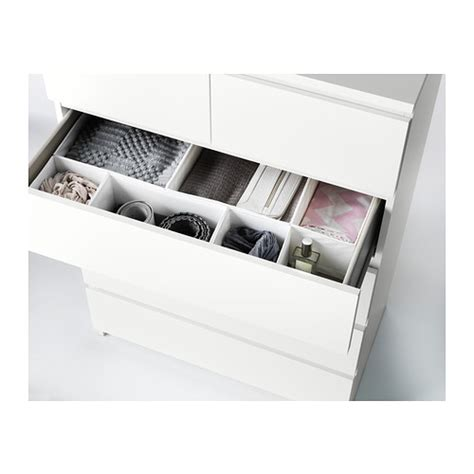 ikea pull out drawers malm chest of 6 drawers white 80x123 cm ikea