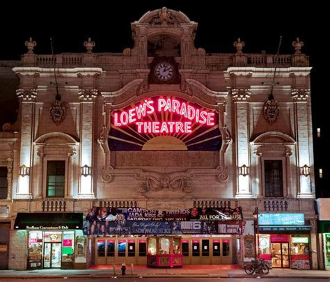 theater bronx loews paradise theater bronx ny loew s paradise theater