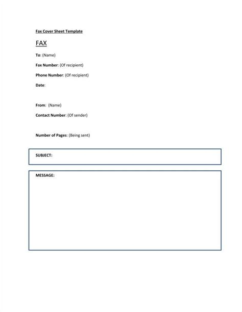 9 fax letterhead templates free pdf doc format