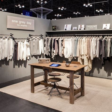 booth design fashion custom exhibit design one grey day trade show booth