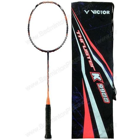 Victor Thruster K 110 Tk 110 Raket Badminton badminton racket victor thruster k badminton plaza