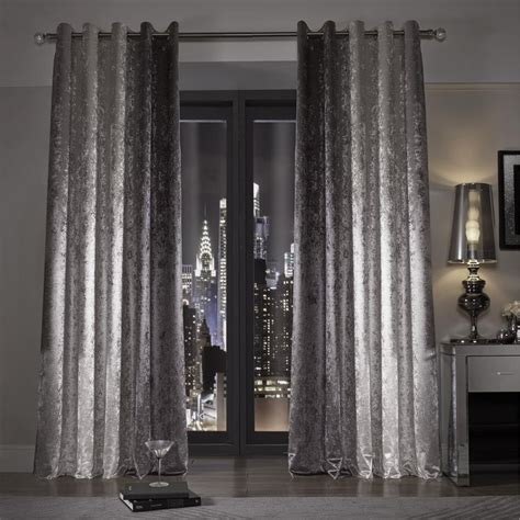 crushed velvet curtains grey 17 best ideas about silver curtains on pinterest silver