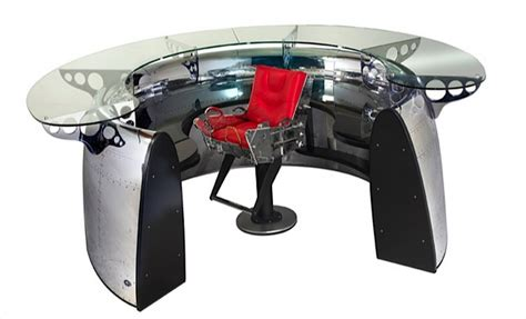 Desk Engine by Airplane Furniture Aircraft Desks Beds Lighting