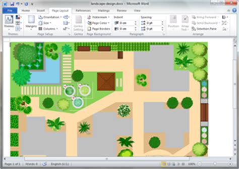 Free Garden Design Templates For Word Powerpoint Pdf Free Landscape Design Templates