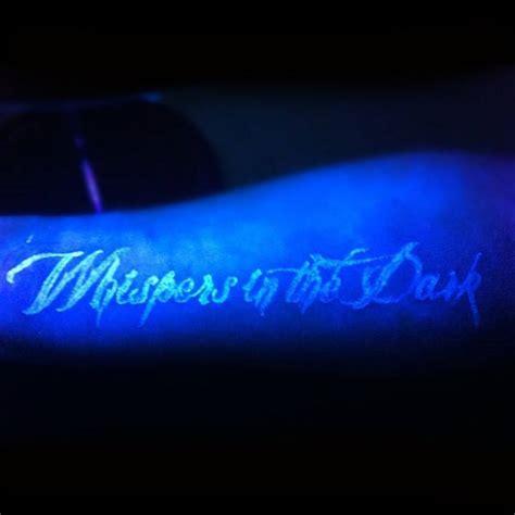 60 Glow In The Dark Tattoos For Men Uv Black Light Ink Black Light Ink