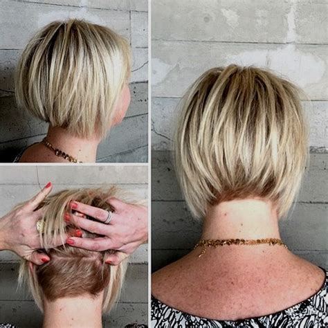 blonde bob nape 50 short choppy hairstyles for any taste choppy bob