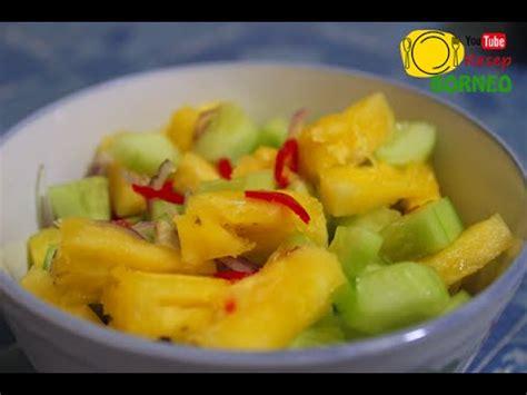 cara membuat puding nanas sajian cepat membuat acar timun nanas youtube